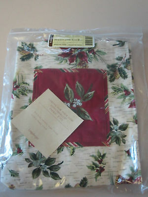 Longaberger 2006 Holiday Tote bag purse NEW NIB