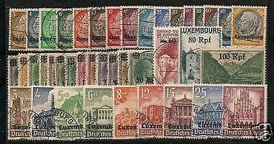 Luxembourg German Occupation 1940, Specials N1-32,NB1-9