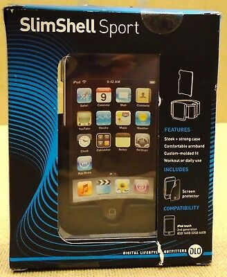DLO SlimShell Sport Case with Detachable Armband for iP