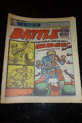 BATTLE PICTURE WEEKLY Comic - Date 10/04/1976 - UK Paper comic