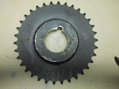 "New Browning 60B34 Chain Sprocket 34 Teeth 8-1/2"" Dia 2-3/16"" Keyed Bore"