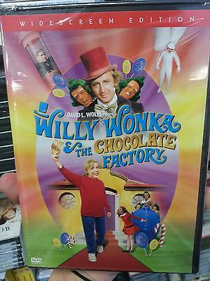 Willy Wonka and the Chocolate Factory (DVD, 2005, Widescreen FREE SHIPPING !!!!.