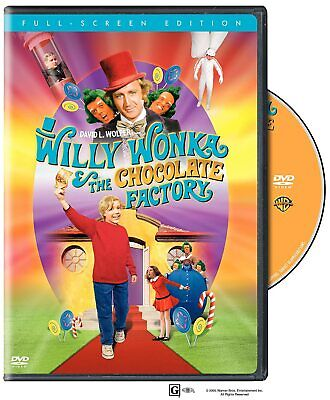 Willy Wonka and the Chocolate Factory (FULL SCREEN) New, Free shipping