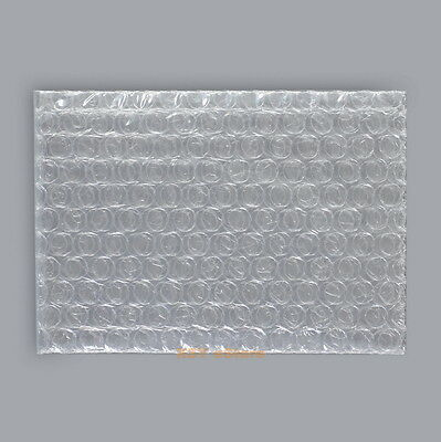 """40 Clear Plastic Bubble Bags 3"""" x 5""""_80 x 125mm Poly Packing Envelopes Pouches"""
