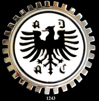 GERMAN CAR GRILLE EMBLEM BADGES - GERMAN AUTO CLUB