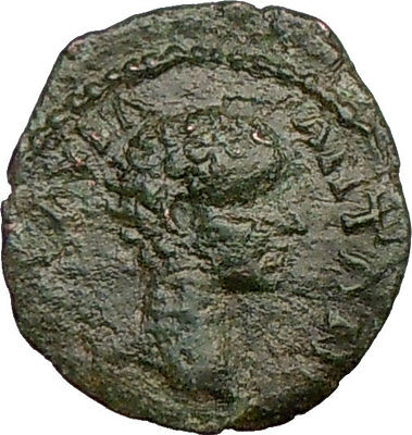 CARACALLA as Caesar Authentic Ancient Roman Coin , Basket of fruit  i22607