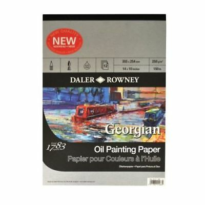"Daler Rowney Georgian Oil Painting Pad - 16"" x 12"""