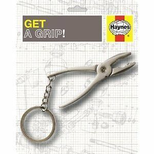 Haynes Chrome Keyring Mini Screwdriver Car Piston NEW