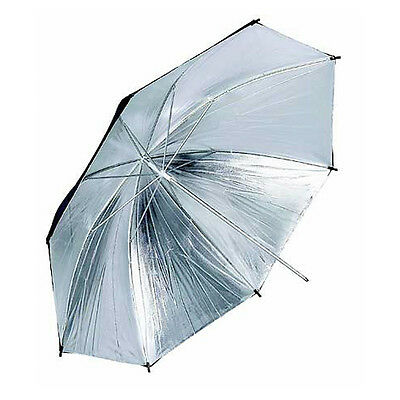 Silver Black Professional Studio Umbrella 91cm 36""
