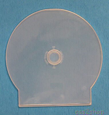 200 Generic CD-R DVD CLAM C SHELL POLY CASE  CLEAR Square Tail