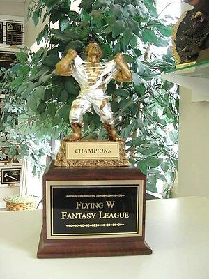 Fantasy Football Victory Monster Perpetual Trophy 16 Years *