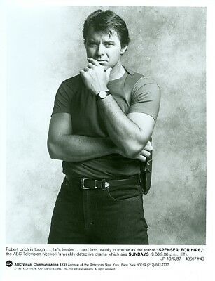Robert Urich Hunky Spenser For Hire 1986 Abc Tv Photo