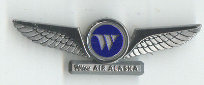 Wien Air Alaska US Defunct Airline Pilot Plastic Wings