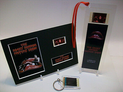 Rocky Horror Picture Show 3 Piece Movie Film Cell Memorabilia Collection Gift