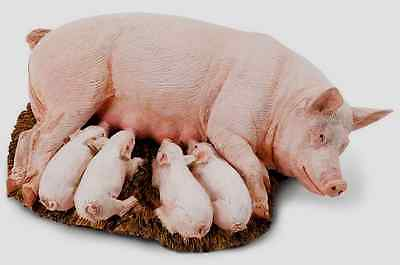 SOW with PIGLETS # 235929 ~Replica ~FREE SHIP in USA  w/ $25+SAFARI,Ltd.Products