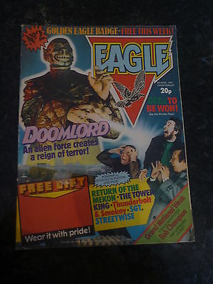 EAGLE Comic - Issue No 2 - Date 03/04/1982 - UK Paper Comic (No Gift)