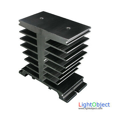 Heatsink heat sink for a 60A 80A SSR Solid State Relay