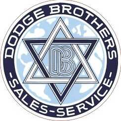 Vintage Dodge Brothers Sales Service Decal - The Best!!