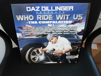 Daz Dillinger - Who Ride Wit Us / Tha Compalation Volume 1 // DLP