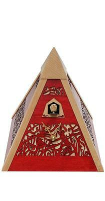 Pyramid Table Cuckoo Clock Unique Design German Made