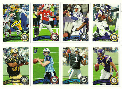 2011 Topps Football - Complete Set - 440 Cards