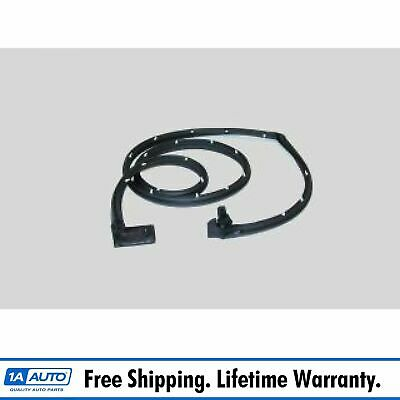 Cargo Door Seal Rubber Weatherstrip for 74-96 Chevy GMC Van G-Series