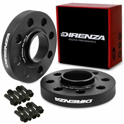 DIRENZA HUBCENTRIC 20MM 4x100 WHEEL SPACERS FOR NISSAN MICRA K12 NOTE KUBISTAR