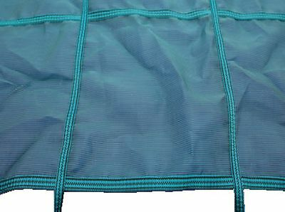 34ft x 18ft Deluxe Criss Cross Winter Debris Cover & Fixings For Swimming Pool