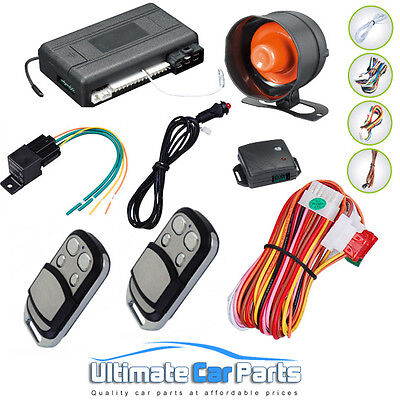 Latest 2017 Remote Engine Start Car Alarm & Immobiliser Uk Supplied And Dispatch