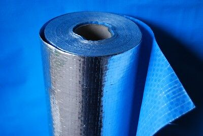 Trade Select Wall Wrap Foil Insulation Non Breather Sisalation Sarking 81m2 roll