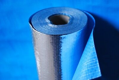 Trade Select Wall Wrap Foil Insulation Breather Sisalation Sarking 81m2 roll