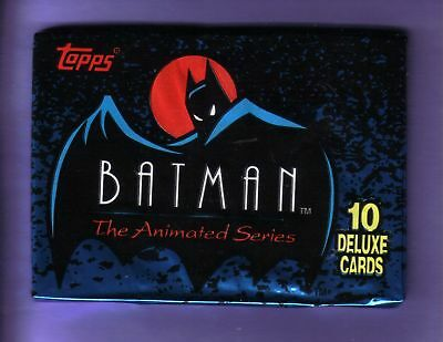 1993 Topps Batman Animated Series Pack Fresh From Box!