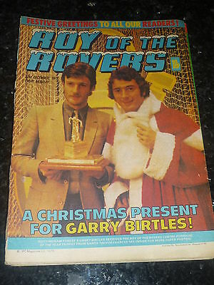 ROY OF THE ROVERS - Year 1979 - Date 22/12/1979 - UK Paper Comic