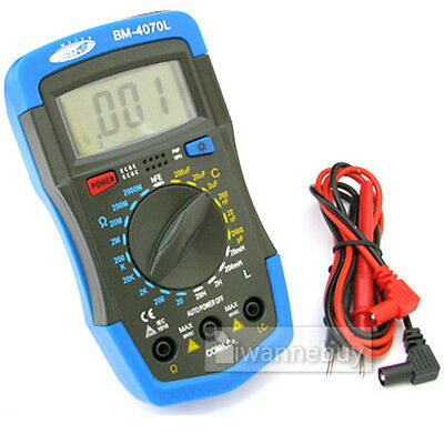 LCR RCL INDUCTANCE CAPACITANCE RESISTANCE METER W/Leads