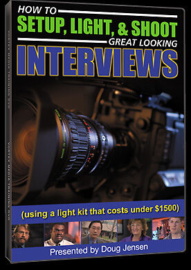 Vortex ILDVD How to Setup, Light, & Shoot Great Looking Interviews DVD NEW