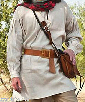 18th Century Pullover Linen Hunting Shirt, Rendezvous Clothing *