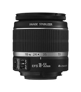 Canon EF-S 18-55mm f/3.5-5.6 IS Lens  Bulk Package