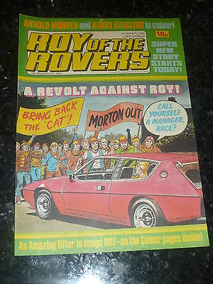 ROY OF THE ROVERS - Year 1983 - Date 05/03/1983 - UK Paper Comic