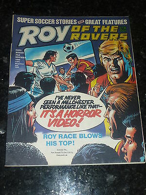 ROY OF THE ROVERS - Year 1986 - Date 22/11/1986 - UK Paper Comic
