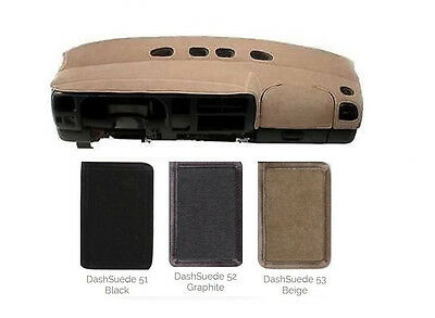 SUEDE Dash Cover - Custom Fit for Your Model - Many Colors         S1IN