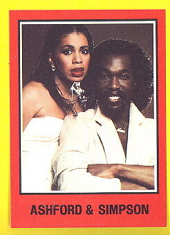 "Ashford & Simpson WB 1979 bio ""trading card"" #40 mint condition"