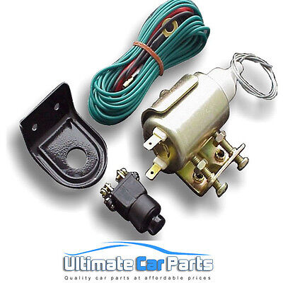 Door or Boot Trunk Popper Opener Solenoid Kit Suitable For de Locking Your Car