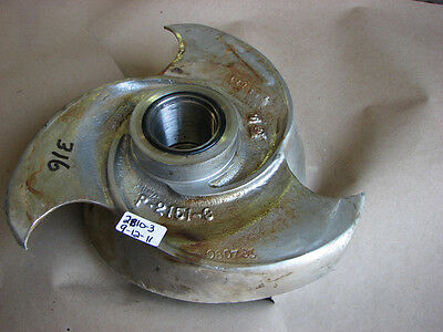 Used Goulds Pump Impeller 316Ss P-2151-3