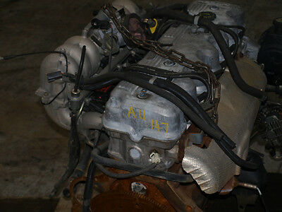 Ford Falcon Au 6 Cylinder 4.0 Litre Engine / Motor In Good Condition Low Kms