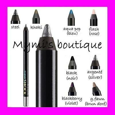 CRAYON EYE-LINER GEL SuperSHOCK AVON neuf ! Eyeliner Super Shock tracé facile