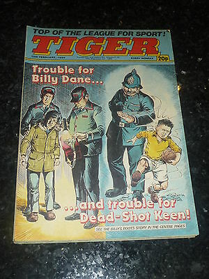 TIGER Comic - Year 1984 - Date 18/02/1984 - UK Paper Comic
