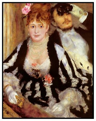 Impressionist Renoir/'s The Banks Seine France Counted Cross Stitch Chart Pattern