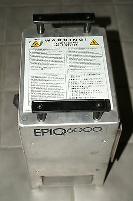 Fusion Uv Ultraviolet Epiq6000 Microwave Lamp Irradiator Unit 600 Watts Per Inch