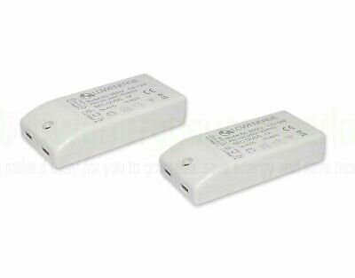 2x LED Driver Power Supply Transformer 240V - DC 12V