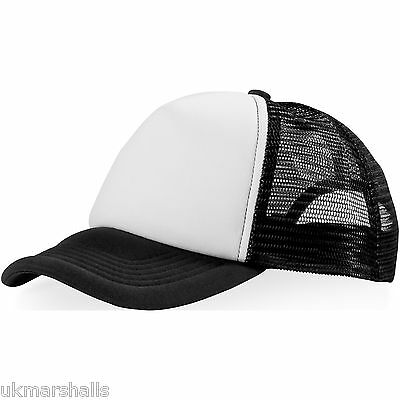 91ffb826dbb Fashion Beechfield Snapback Trucker Baseball Cap Hat Men Unisex Mesh  Adjustable.